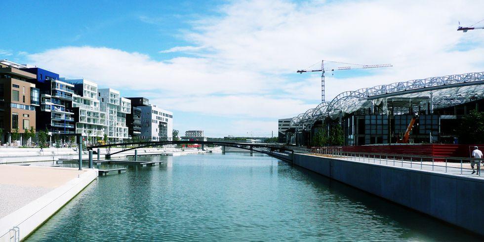 Presqu'île et Lyon-Confluence